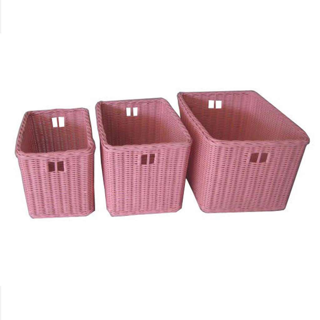Wicker Rattan Storage Basket Wm09007p Wm09011e Wm09002p